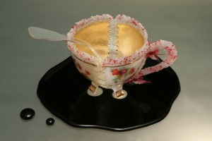 """No Chance of a Clean Escape""  Teacup"
